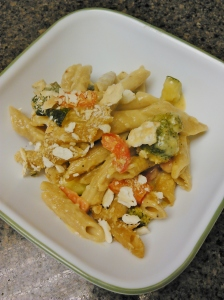 roasted veggie penne