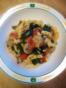 kale chicken pasta